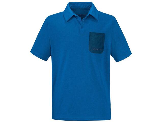Schöffel Bilbao Pikeepaita Miehet, imperial blue